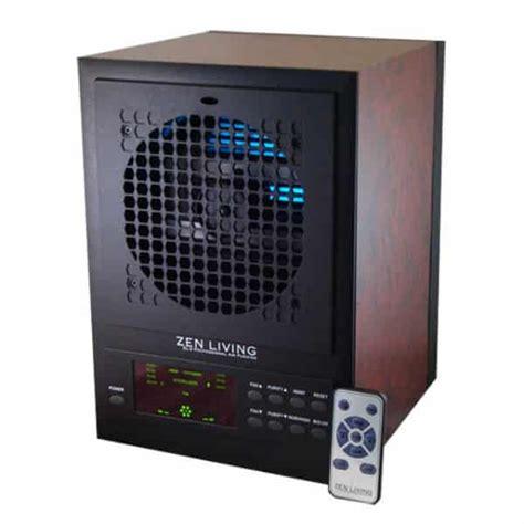 professional air purifier  remote wood grain zen