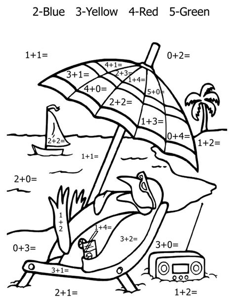 coloring pages math worksheets free printable math coloring pages for kids best