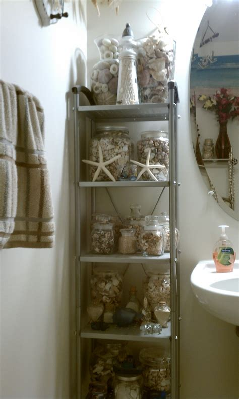 sea bathroom nautical sea shell themed bathroom bathrooms pinterest