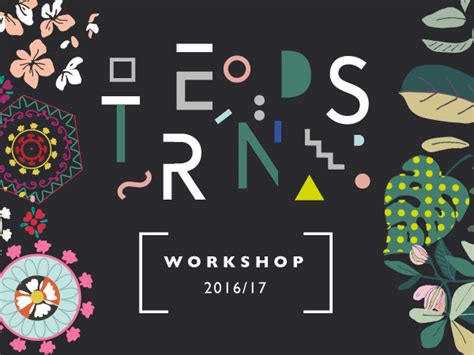 Free Online Design trends workshop 2016 sabina radeva