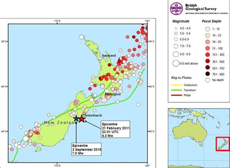 earthquake zones nz new zealand quake map co nz