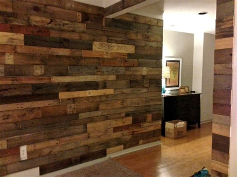 pallet wood accent wall for the home pinterest other car wait to do our pallet wall alex s needs to get on it