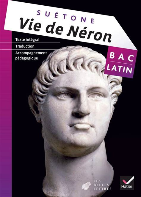 latin tle livre oeuvre compl 232 te latin tle 233 d 2013 vie de n 233 ron su 233 tone su 233 tone hatier latin lyc 233 e