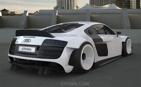 Virtual Tuning: Custom Wide Body Audi R8
