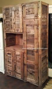Euro pallet kitchen cabinet small cupboard pallet version
