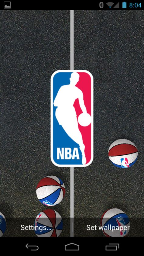 Android App Review: NBA All Star Live Wallpaper   Android