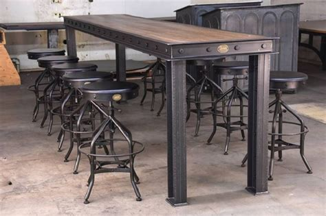 industrial furniture style gives modern homes a