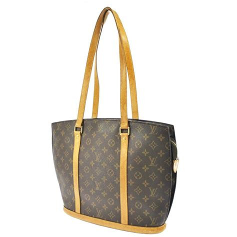 auth louis vuitton babylone shoulder tote bag monogram