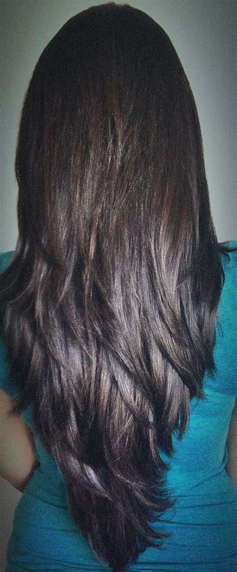 hair cut front and back view on pincrest 17 best ideas about v layered haircuts on pinterest v