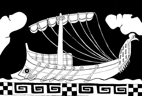 coloriage bateau ulysse meilleures id 233 es coloriage pour - Dessin Bateau Ulysse