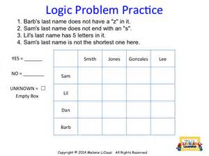 diy logic puzzles for math class mrs l s leveled learning