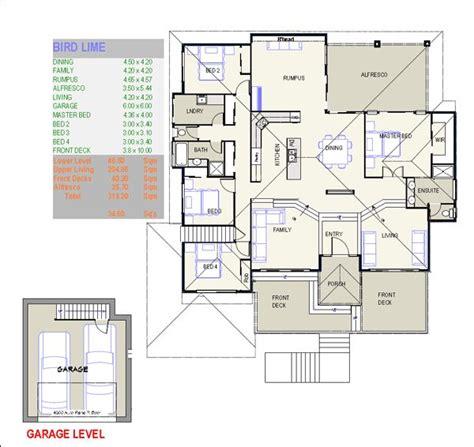custom home design plan 12851 blueberry ash sloping house plans free custom home