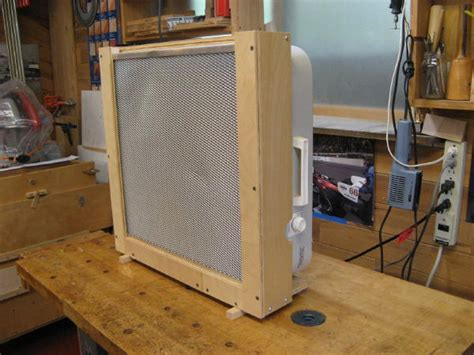 woodworking air filter box fan air filter dust collection