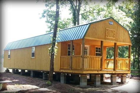 custom lofted barn shed  tiny house lofted barn cabin