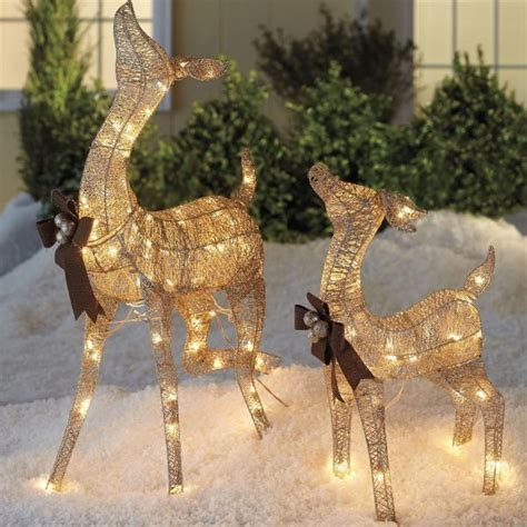 outdoor reindeer with lights 50 home decor items to help you get ready for