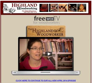 Highland Woodworker May Woodcarver