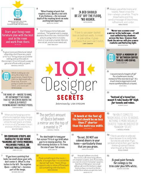 interior design secrets 101 designer decorating secrets for the hopefully near future a interior design