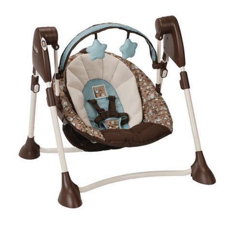 brown baby swing 12 best baby swings reviewed portable and full size