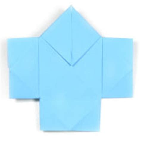 Easy Origami Shirt - how to make origami shirt