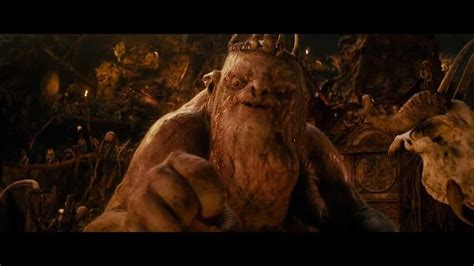 hobbit film goblin king the hobbit an unexpected journey the goblin king hd