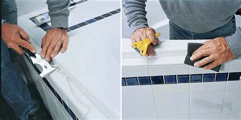 how to remove caulking around bathtub caulk your tub in a few easy steps