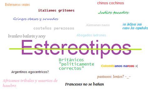 preguntas hipoteticas sobre los estereotipos mascullando ideas estereotipos y clich 233 s