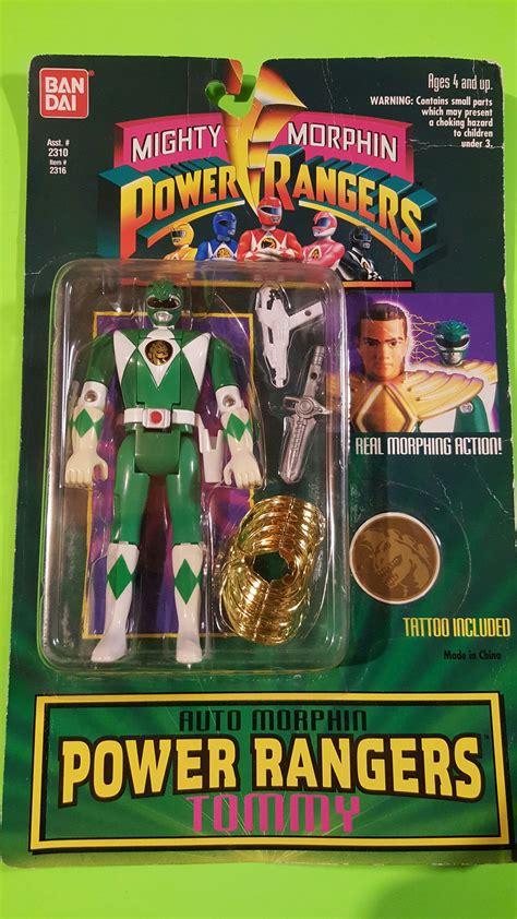 Tomy Bandai Figure bandai green mighty morphin power rangers