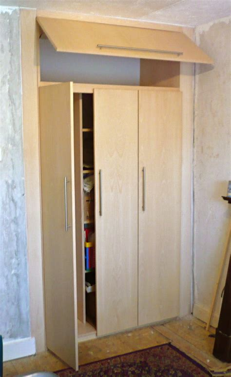 Wardrobe Cupboard Beech Fitted Cupboard Wardrobe Richard Sothcott