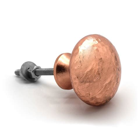 Pushka Door Knobs by Copper Hammered Cupboard Door Knobs By Pushka Home