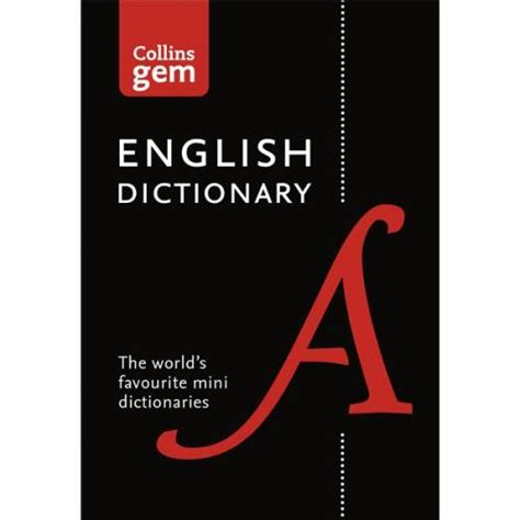 Collins Colour Dictionary collins gem dictionary with colour headwords in