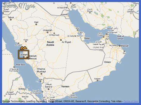 jidda map jeddah map toursmaps