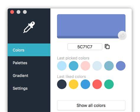 color picker app kelir mac app for color picker color palette color