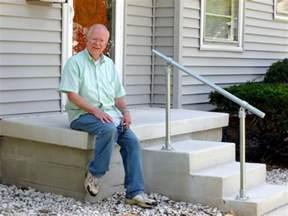metal handrail for steps 5 diy metal stair railing exles