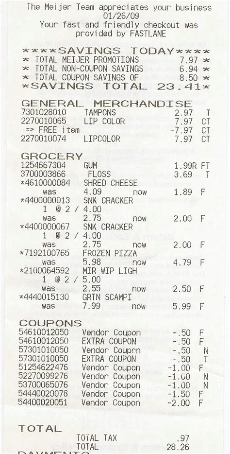 grocery receipt template grocery receipts picture image by tag
