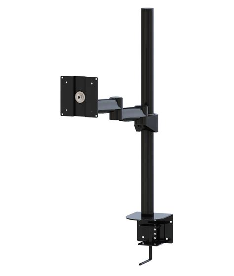 monitor swing arm mount adjustable desk pole mount z series monitor swing arm