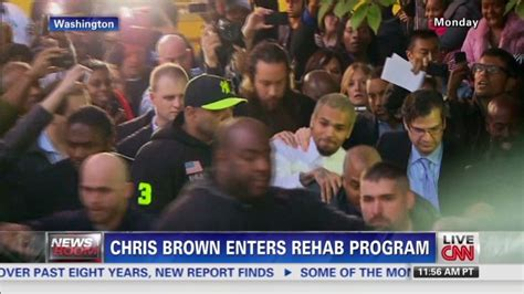 Enters Rehab by Chris Brown Admits Violating Probation Could Be Out Of