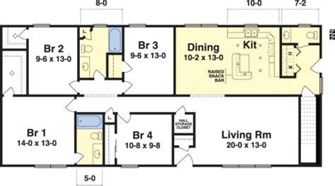 modular raised ranch floor plans rochester by simplex modular homes ranch floorplan