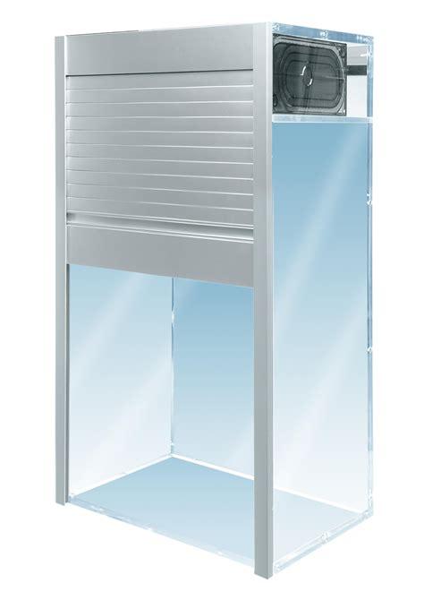 roll up kitchen cabinet doors door roll up offers aluminum tambour doors in a gorgeous
