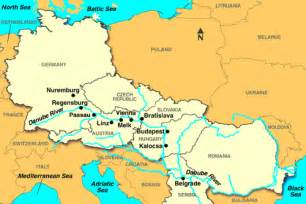 Europe River Map by Danube River Europe Images Amp Pictures Becuo