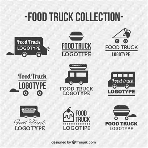 free food truck logo design fast food logo vectors photos and psd files free download