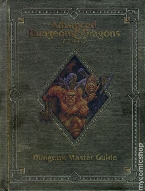 advanced dungeons dragons 2nd edition seads advanced dungeons and dragons dungeon master guide hc