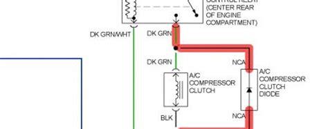 ac compressor clutch diode 1995 buick lesabre replacing a c clutch compressor