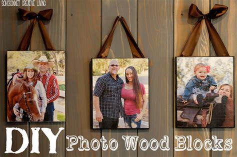diy mod podge on wood diy wood picture blocks sohosonnet creative living