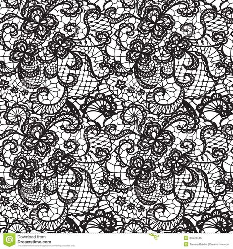 lace pattern vector art white lace background lace black seamless pattern with