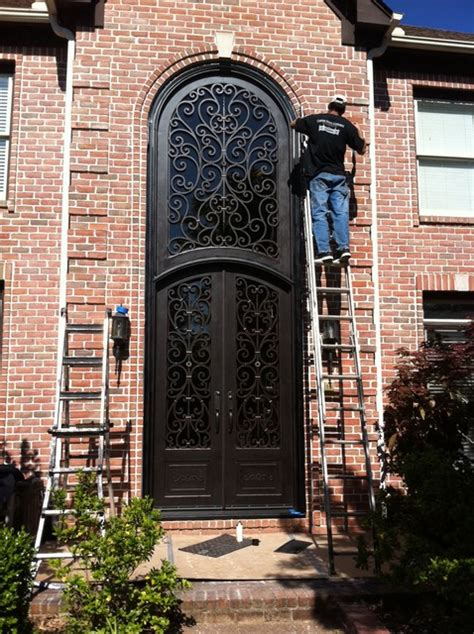 Tuscan Front Doors Tuscany Design Mediterranean Exterior Other Metro By Tuscan Iron Entries