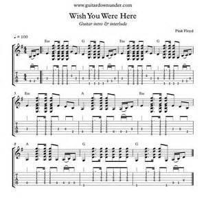 wish you were here by wish you were here by pink floyd accurate guitar