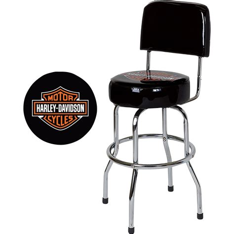harley davidson bar shield low rider bar stool www
