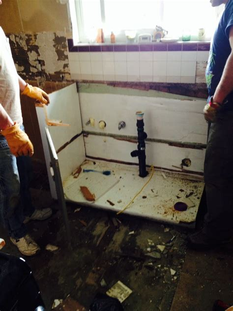 Kitchen Sink Demo Demolishing Our Kitchen Bexbernard