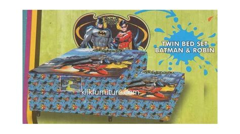 Bed Bigland Karakter 2 in 1 batman robin bed anak karakter bigland sale