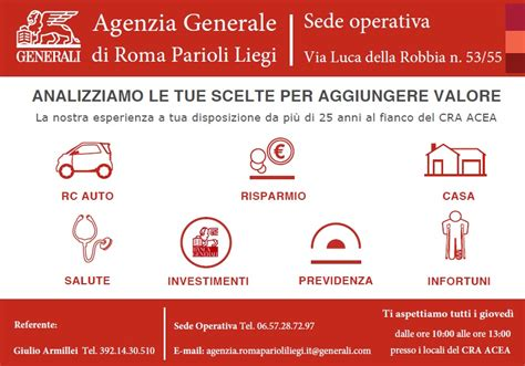 www generali it generali italia s p a cra acea